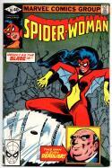 SPIDER-WOMAN #26 VF, Grinder, 1978 1980 Marvel Bronze age