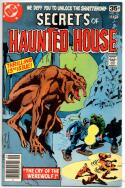 SECRETS of HAUNTED HOUSE #13, VF/NM, Werewolf, horror, 1978 DC