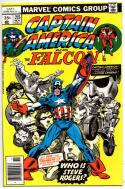CAPTAIN AMERICA #215, VF/NM,  George Tuska, Falcon, 1968 1977, Who is Steve Rogers