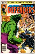 DEFENDERS #84, VF, Hulk, Sub-Mariner, Dr Strange, Black Panther 1972 1980