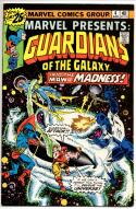 MARVEL PRESENTS #4, FN/VF, Guardians of the Galaxy, 1975 1976, more Bronze in store