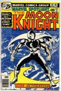 MARVEL SPOTLIGHT #28, VG-, 1st solo Moon Knight, 1971 1976, more Bronze in store