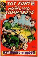 SGT FURY #54, VF-, War, WWII, Severin Ayers, Izzy, 1963 1968