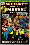 SPECIAL MARVEL EDITION #7, VF, Sgt Fury Capture Hitler, more Marvel in store, 1972