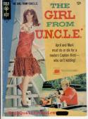 GIRL From UNCLE #3, Gold Key, VG+, McWilliams, Stephanie Powers, 1967