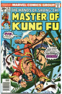 MASTER of KUNG-FU #46 47 48 49 50, VF/NM, 1974, 5 issues, more in store