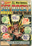 SGT ROCK'S Prize Battle Tales #1, GD-, 1964, Russ Heath,Kubert,more War in store