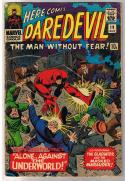 DAREDEVIL #19, GD+, Masked Marauder, John Romita, 1964, more DD in store