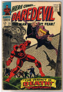 DAREDEVIL #20, VG, Gene Colan, Man w/out Fear, 1964, more DD in store