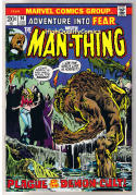 FEAR #14, VF,  Adventrue into, Man-thing, Val Mayerik, more in store
