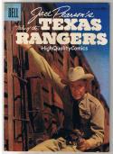 JACE PEARSON TEXAS RANGERS 13, VG+, Western, Photo Cv, 1956