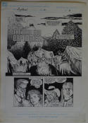 COLLEEN DORAN / JD PASCALE original art, NIGHT BREED #21 pg 6, Clive Barker