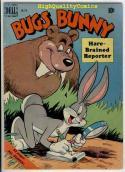 BUGS BUNNY #274, VG, Dell, 1950, Porky Pig, Warner Bros, Reporter