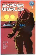 BORDER WORLDS #1 2 3 4 VF/NM, 5 and 7, VF, Donald Simpson, 1986, 6 issues in all