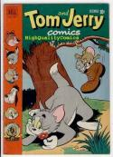TOM & JERRY #89, FN/FN+, Spike, 1951, Barney Bear, Droopy, Benny Burro