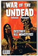 WAR of the unDEAD #3, NM, Frankenstein, Werewolf, 2007, WWII, more in store