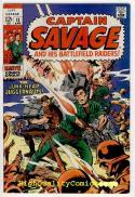 CAPTAIN SAVAGE #12-13, VF+ to  NM, Leatherneck, Junk-Heap  Juggernauts, 1969