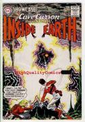 SHOWCASE #52, VG, Cave Carson, Prisoners, Lost World, 1964, Silver age