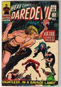 DAREDEVIL #12, FN+, Ka-Zar, Jack Kirby, John Romita, 1964, more in store