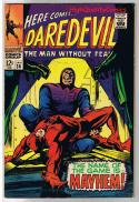 DAREDEVIL #36, FN+, Gene Colan, Fantastic Four, 1964, more in store