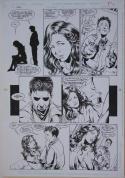 PHIL JIMENEZ / RAY KRYSSING original art, ROBIN #11 pg 9, 11