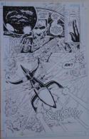 PAUL GULACY / JIMMY PALMIOTTI original art, SCI SPY #4 pg 18, Vertigo, Aliens