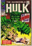 HULK #102, FN+/VF, Incredible, Origin, Tuska, 1968, more Hulk in store