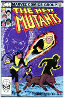 NEW MUTANTS #1 2 3 4 5 6 7 8 9 10-59 + Ann #1-3 + Spec #1, VF/NM,63 issues, 1983