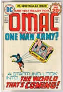 OMAC #1, VG+, Jack Kirby,  One Man Army Corp, 1974, more JK in store