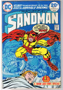 SANDMAN #1, VG+, Jack Kirby, Joe Simon, Dreams, 1974, more JK in store