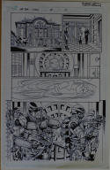 ROBERT ATKINS / CLAYTON BROWN original art, GI JOE #15 pg 17, 2008,11