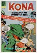 KONA MONACH OF MONSTER ISLE #16, VF, Gil Kane, Dinosaurs, 1965
