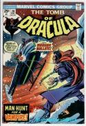 TOMB of DRACULA #20, Vampire, Doctor Sun, 1972, FN+