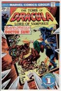 TOMB of DRACULA #42, Vampire, Blade, Wolfman, 1972, FN