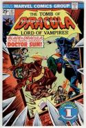 TOMB of DRACULA #42, FN/VF, Vampire, Blade, Wolfman, 1972, Bronze age Marvel