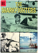 SHARKFIGHTERS #762, VG+, 1957, Golden Age, Dell Four Color, Shark, Fishing