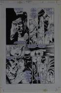 KELLEY JONES / RON RANDALL original art, the CRUSADES #14 pg 5, 11