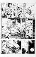 DEAN KOTZ Original Published Art, TRAILER PARK of TERROR #6 page 25,Zombies