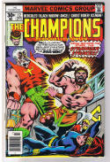 CHAMPIONS 12, VF, Ghost Rider, Black Widow, Goliath, 1975, more in store
