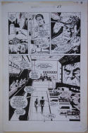 PAUL GULACY original art, MARVEL COMICS PRESENTS #27 pg 18,11