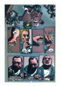RICHARD CORBEN original transparency art, HELLBLAZER, #147 pg 18, Hard Time,Jail