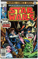 STAR WARS #9, VF, Luke Skywalker, Darth Vader, 1977, more SW in store