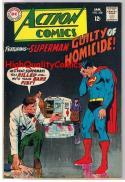 ACTION COMICS #358, FN, Superman, Neal Adams, Homicide, more SM in store
