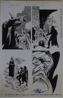 RON FRENZ / SAL BUSCEMA original art, BLACK KNIGHT #1 pg 5, 2010,11