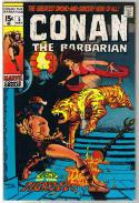 CONAN the BARBARIAN #5, VF, Robert E Howard, Barry Smith, Zukala's Daughter