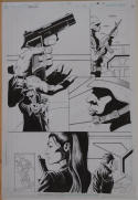PAUL GULACY / JIMMY PALMIOTTI original art, RELOAD #3 pg 14, Hitwoman, Signed