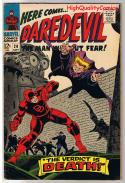 DAREDEVIL #20, FN+, Verdict is Death, Gene Colan, 1964, more DD in store