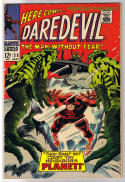 DAREDEVIL #28, VG+, Planet, Gene Colan, Without Fear, 1964, more DD in store