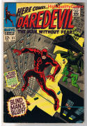 DAREDEVIL #31, VG/FN, Blind Man, Colan, Without Fear, 1964, more DD in store