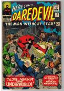 DAREDEVIL #19, FN+, Masked Marauder, John Romita, 1964, more DD in store